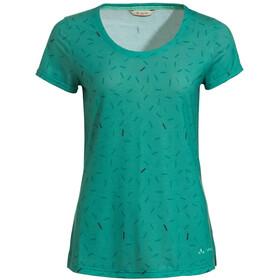 VAUDE Skomer AOP T-Shirt Women, verde